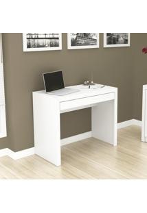 Mesa De Escritório Com 1 Gaveta Tecno Mobili - Branco