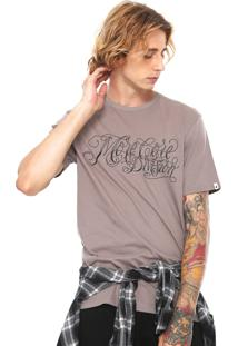 Camiseta Mcd Lines Marrom