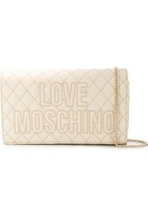 Love Moschino Love Cross Body Bag - Neutro