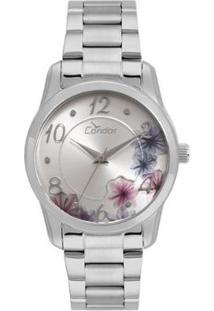 Relógio Condor Feminino Fashion Top Fashion - Co2039Au/K3K Co2039Au/K3K - Feminino-Prata