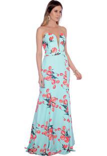 5777b9777d Dafiti. Vestido Tiffany   Co. Verde Festa Gowara
