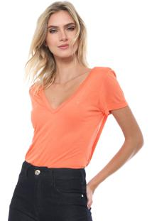 Camiseta Forum Lisa Coral