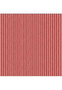 Papel De Parede Coleção Infantário Vermelho Listras 1749 Bobinex