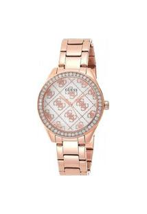 Relógio Analógico Feminino Guess Rose - Gw0001L3 Rosa
