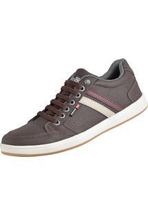 Tênis Sapatenis Cr Shoes Com Elástico Leve Lançamento Café