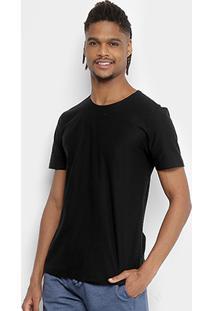 Camiseta Kohmar Flamê Masculina - Masculino-Preto