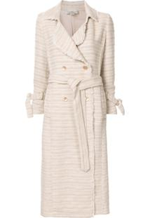We Are Kindred Trench Coat Florence - Branco