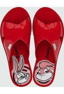 Chinelo Feminino Slide Looney Tunes Zaxy 17762