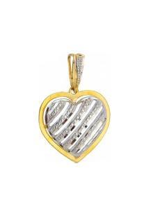 Pingente De Ouro Coração