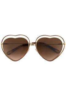 Óculos De Sol Degrade Marrom feminino   Shoelover ee775fc0ca