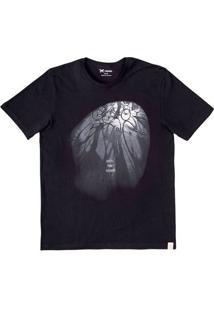 Camiseta Masculina Hering Com Estampa Frente E Verso