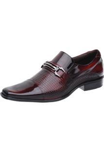 Sapato Social Malbork Verniz Vermelho