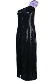Olivia Rubin Vestido De Festa Um Ombro Só - Preto