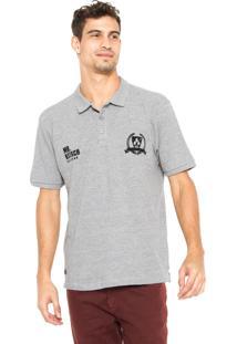 Camisa Polo Mr. Kitsch Lati Cinza