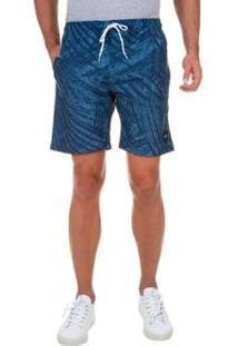 Bermuda Boardshort Oakley O-Palm 18' - Masculino-Azul