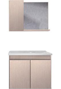 Gabinete De Banheiro Com Espelheira Madri 57X34Cm Rovere Gaam