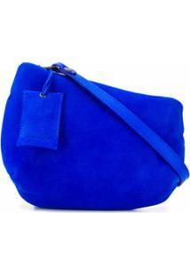 Marsèll Bolsa Tiracolo Assimétrica - Azul