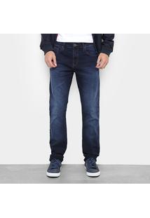 Calça Jeans Reta Colcci John Estonada Masculina - Masculino
