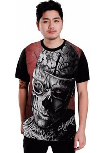 Camiseta Stompy Brain Tattoo - Masculino