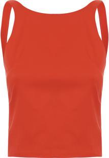Blusa Feminina Mergulhadora - Vermelho