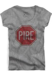 Camiseta Pire Fem Reserva Masculina - Masculino-Cinza