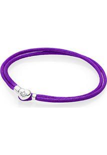 Bracelete Da Amizade Pandora Roxo