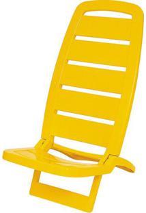 Cadeira Guaruja Polipropileno Cor Amarelo - 21840 Sun House