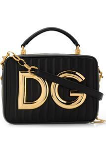 Dolce & Gabbana Bolsa Tote Dg Girls Pequena - Preto