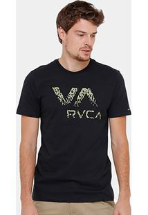 Camiseta Rvca Ancell Va Masculina - Masculino