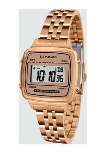 Relógio Feminino Digital Lince Sdrh041L Bxrx