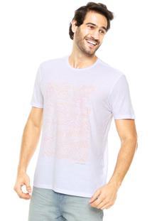 Camiseta Pineapple Reta Branca