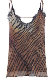 Regata Feminina Aya - Animal Print