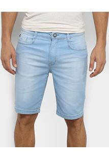 Bermuda Jeans Hang Loose Surin Masculina - Masculino-Azul Claro