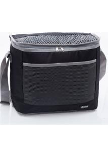 Bolsa Térmica Pratic Cooler 20 Litros - Paramount - Preto