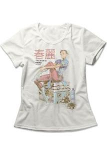 Camiseta Feminina Chun-Li Vintage - Feminino