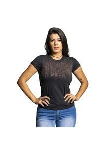 T-Shirt Miss Country Liberdade Cinza