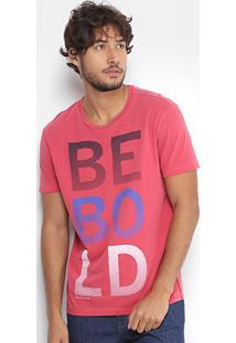 Camiseta Calvin Klein Tinturada Estampada Masculina - Masculino