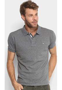 Camisa Polo Gangster Piquet Com Elastano Masculina - Masculino