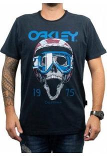 Camiseta Oakley Poisonous Tee Masculino - Masculino-Preto