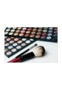 Painel Adesivo De Parede - Salão De Beleza - Maquiagem - 818Pnm