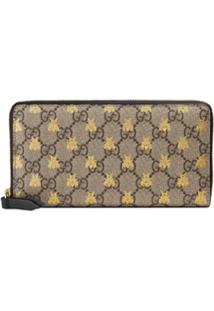 Gucci Carteira Gg Supreme Estampada - Neutro