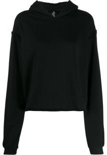 Thom Krom Long-Sleeve Pullover Hoodie - Preto