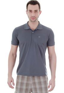 Camisa Polo Masculina Sg - Grafite