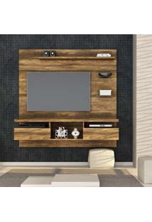 Painel Para Tv 55 Polegadas Antares Canela Rústico 160 Cm