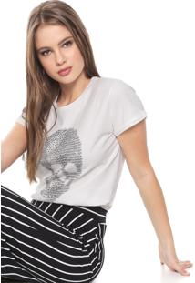 Camiseta Triton Estampada Off-White