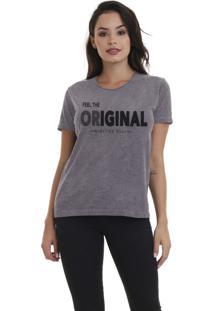 Camiseta Jay Jay Básica Original Chumbo Dtg