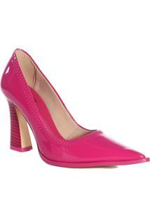 Sapato Scarpin Verniz Zariff Salto Madeira Magento