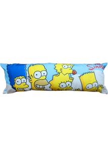 Fronha Para Agarradinho Família The Simpsons