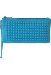 Necessaire Bag Dreams Impermeável Azul Clara