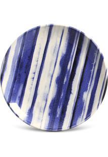 Prato Sobremesa Coup Stripes Cerâmica 6 Peças Porto Brasil